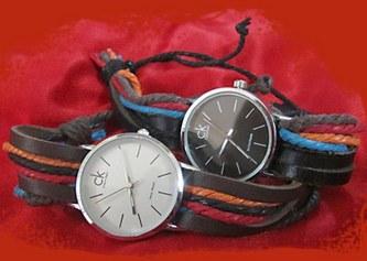 خرید پستی ساعت مچی دخترانه طرح Art سی کا